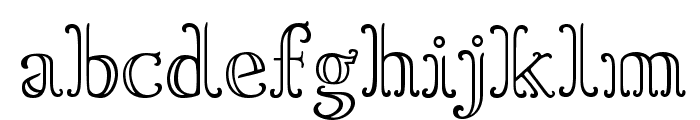 Goudy OrnateC Font LOWERCASE