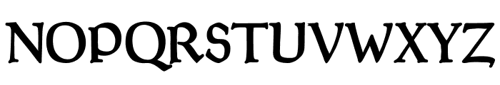 Goudy Thirty Font UPPERCASE
