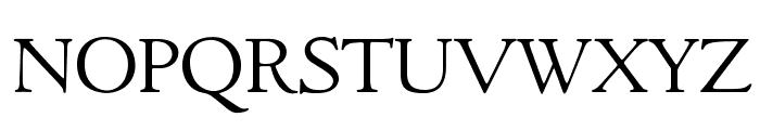 GoudyItalienSOpti-Light Font UPPERCASE