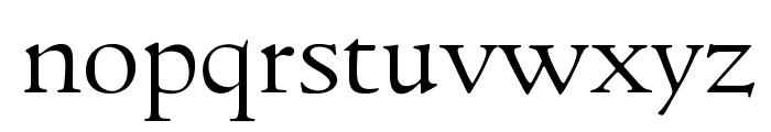 GoudyItalienSOpti-Light Font LOWERCASE