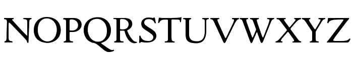GoudyItalienSOpti-Regular Font UPPERCASE