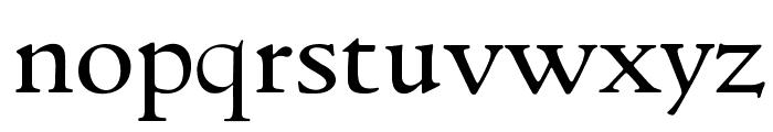 GoudyItalienSOpti-Regular Font LOWERCASE