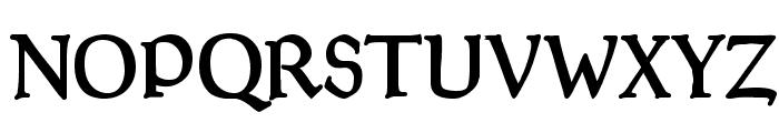 GoudyThirty-DemiBold Font UPPERCASE