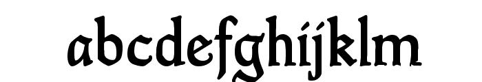 GoudyThirty-DemiBold Font LOWERCASE