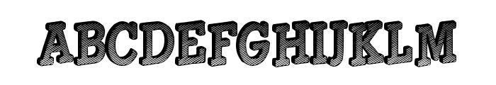 Gouldage Font LOWERCASE