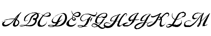 GouldenTreatise Font UPPERCASE