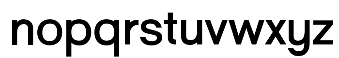 Goulong Bold Font LOWERCASE