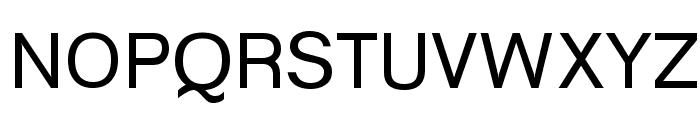 Goulong Font UPPERCASE