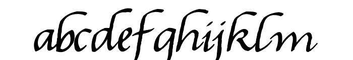 Gourdie Handwriting Font LOWERCASE