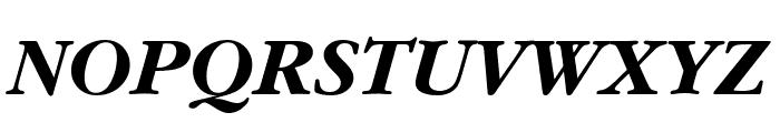 Gourmand  Bold Italic Font UPPERCASE