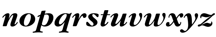 Gourmand  Bold Italic Font LOWERCASE