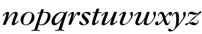 Gourmand  Italic Font LOWERCASE