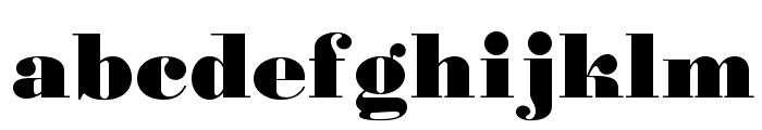 Gourmandise Font LOWERCASE