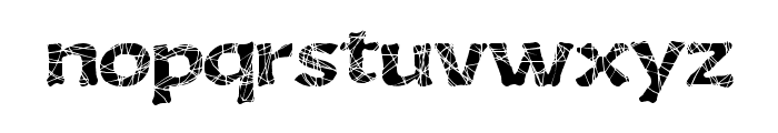 GourmetKing Font LOWERCASE