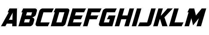 GovernmentAgentBB-Italic Font UPPERCASE