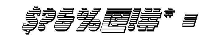 Governor Chrome Italic Font OTHER CHARS