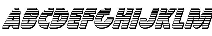 Governor Chrome Italic Font LOWERCASE