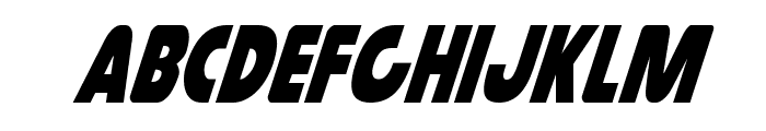 Governor Condensed Italic Font LOWERCASE