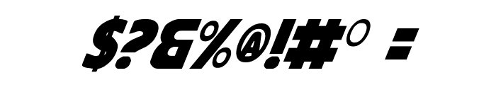 Governor Italic Font OTHER CHARS