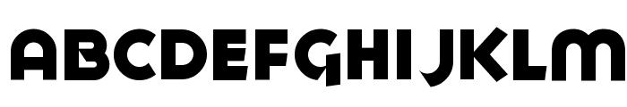 Goya Heavy Font UPPERCASE