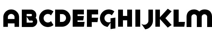 Goya Heavy Font LOWERCASE