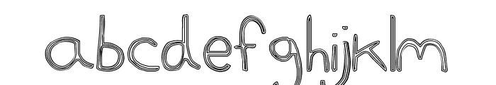 goggles Font LOWERCASE