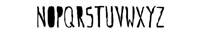 gogozombie Font LOWERCASE