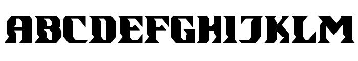 gondrong Font UPPERCASE