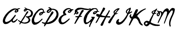 goodvibesregular Font UPPERCASE
