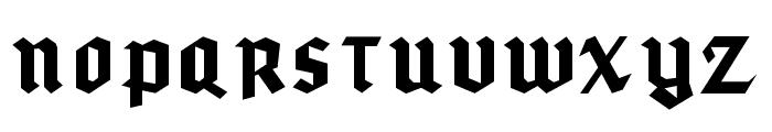 gothicominimo Font UPPERCASE