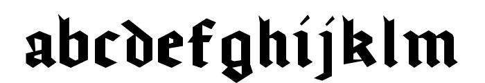 gothicominimo Font LOWERCASE