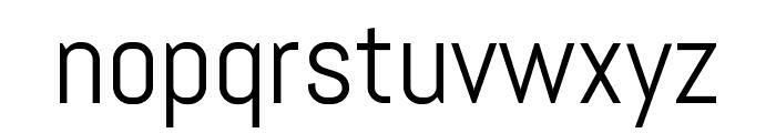 Abel regular Font LOWERCASE
