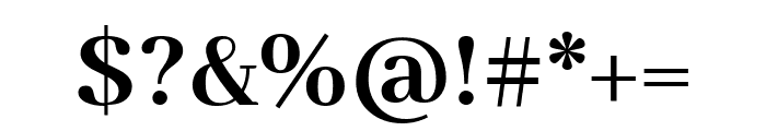 Abhaya Libre 700 Font OTHER CHARS