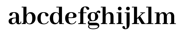Abhaya Libre 700 Font LOWERCASE