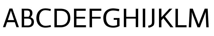 Actor regular Font UPPERCASE