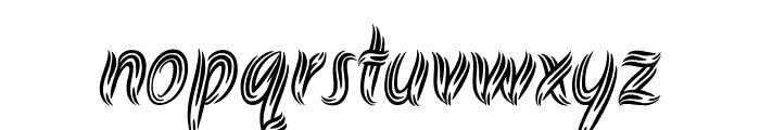 Akronim regular Font LOWERCASE