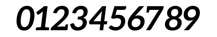Aleo 700italic Font OTHER CHARS