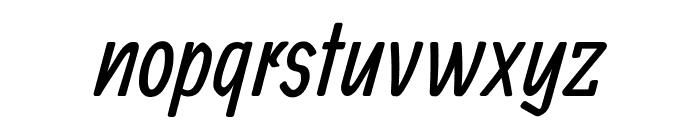 Allan regular Font LOWERCASE