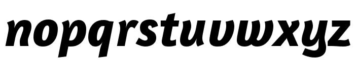 Amaranth 700italic Font LOWERCASE