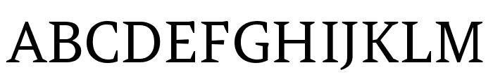 Amethysta regular Font UPPERCASE