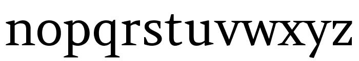 Amethysta regular Font LOWERCASE