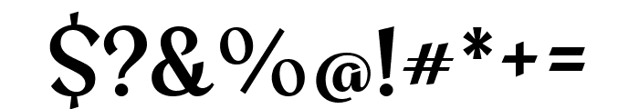 Amita 700 Font OTHER CHARS