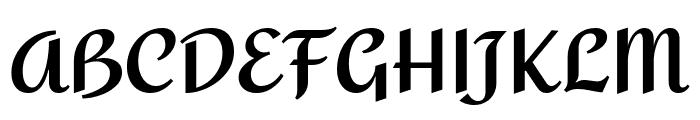 Amita 700 Font UPPERCASE