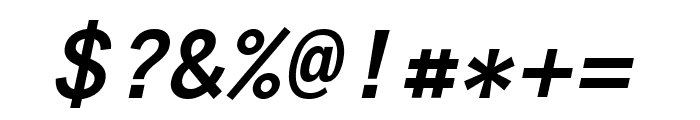 Anonymous Pro 700italic Font OTHER CHARS