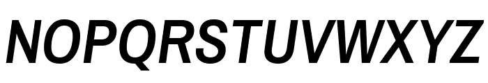 Archivo Narrow 600italic Font UPPERCASE