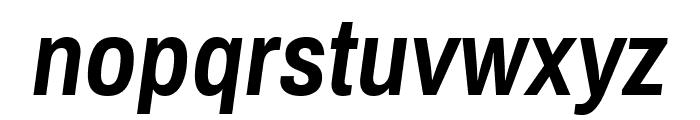 Archivo Narrow 700italic Font LOWERCASE
