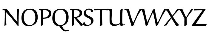 Aref Ruqaa regular Font UPPERCASE