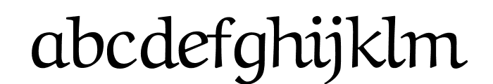 Aref Ruqaa regular Font LOWERCASE