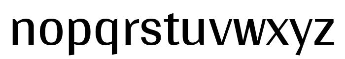 Arya regular Font LOWERCASE