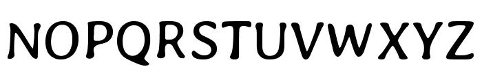 Averia Gruesa Libre regular Font UPPERCASE
